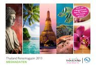 Mediadaten Thailand Magazin 2013 - LD Press