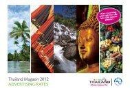 Thailand Magazin 2012 ADVERTISING RATES - LD Press