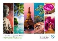 Thailand Magazine 2013 ADVERTISING RATES - LD Press