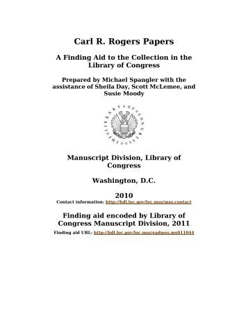 essay on carl rogers Carl rogers carl rogers is known today as one of the most popular and influential american psychologists and is among the founders of the humanistic approach to.