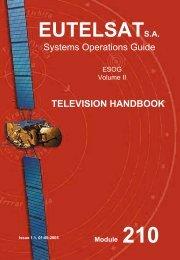 EUTELSAT Television Handbook - Lea