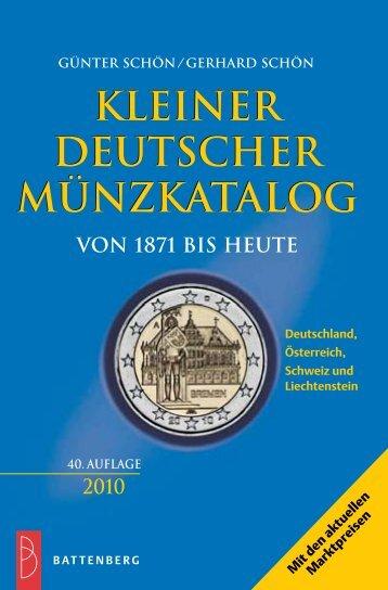 KLEINER DEUTSCHER MÜNZKATALOG - Gietl Verlag