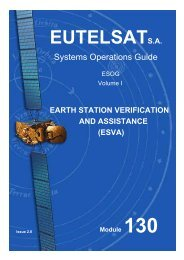 EUTELSAT Systems Operations Guide - Lea
