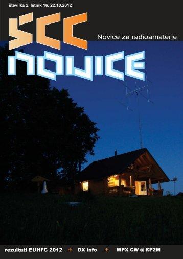 ?tev. 2, letnik 16 - 22.10.2012 - Lea - Zveza radioamaterjev Slovenije