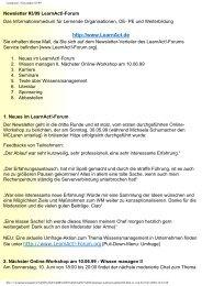 LearnAct!: Newsletter #3/99