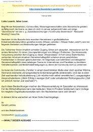 LearnAct! Newsletter Februar 2002