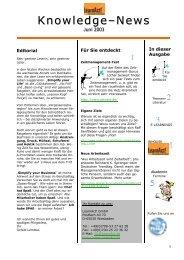 Juni 2003 - LearnAct!