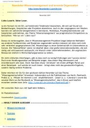 LearnAct! Newsletter September 2001