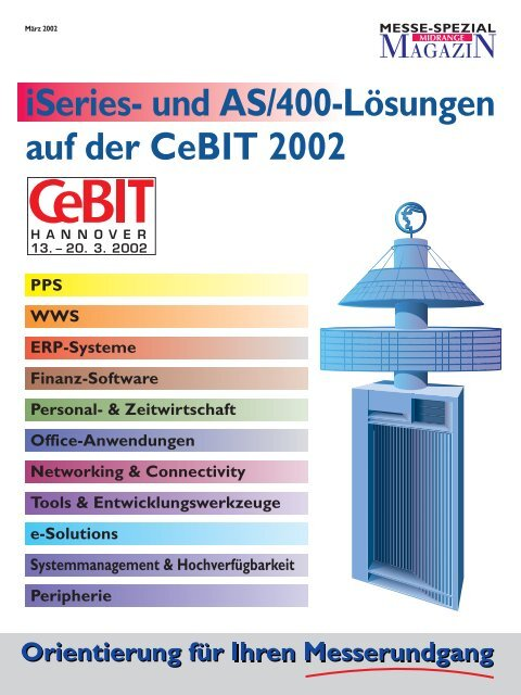 Messef hrer CeBIT 2002