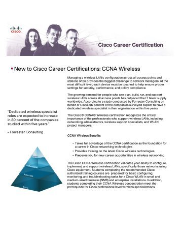 CCNA Wireless - The Cisco Learning Network