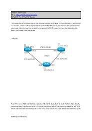 MPLS TE Per VRF.pdf - The Cisco Learning Network