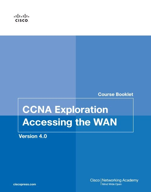 Ccna Exploration Accessing The Wan