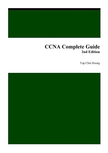CCNA Complete Guide 2nd Edition.pdf - Cisco Learning Home