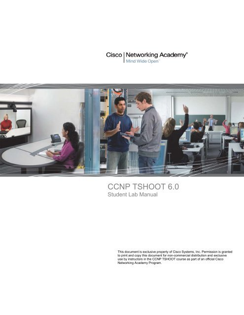 CCNP TSHOOT 6 0 - Cisco Learning Home