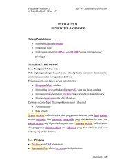 Praktikum Database II Bab 14 : Mengontrol Akses ... - Lecturer EEPIS