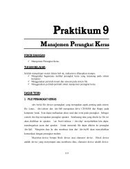 Praktikum 9 - Lecturer EEPIS