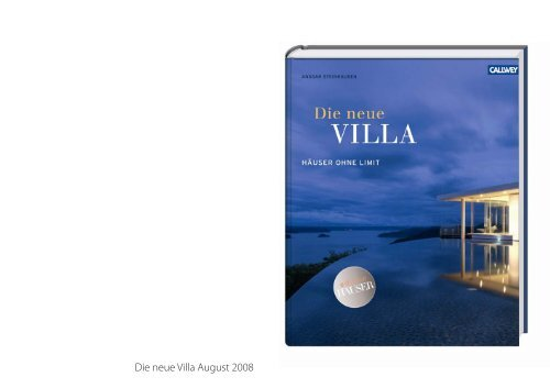 Die neue Villa (PDF) - Antonella Rupp