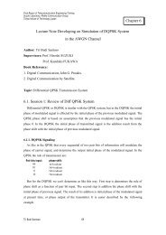 Lecture Note Developing on Simulation of DQPSK ... - Lecturer EEPIS