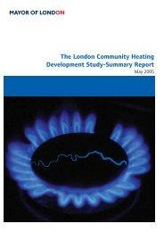 The London Community Heating Development Study-Summary Report