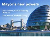 4. Mayor's new powers PDF only - London - Greater London Authority