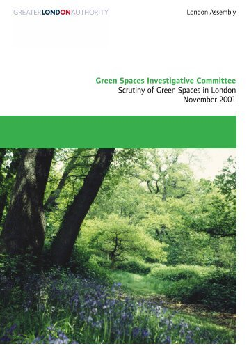 Cover Green Spaces bluebells 2 - London - Greater London Authority