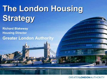 Title of slideshow here - London - Greater London Authority
