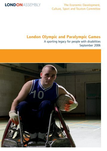 A sporting legacy for people with disabilities PDF - london.gov.uk ...