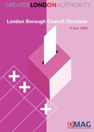 London Borough Council Elections 2006 full report PDF