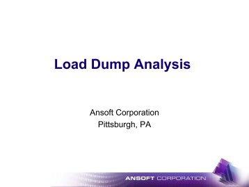 load dump analysis, Powerpoint templates