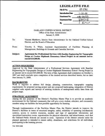 professional services agreement - baseline engineering