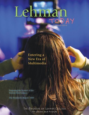Entering a New Era of Multimedia - Lehman College