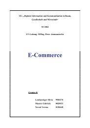 E-Commerce - Lehrer