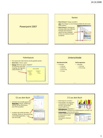 Powerpoint 2007 - lehrer