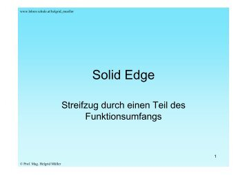 Solid Edge - schule.at