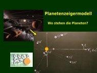 Planetenzeigermodell