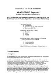 """KLASSEDING Reporter"" - Lehrerfortbildungsserver Baden ..."