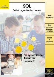 Selbst organisiertes Lernen - Lehrerfortbildungsserver Baden ...