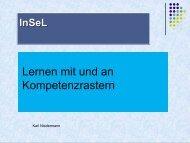 Präsentation - Lehrerfortbildungsserver Baden-Württemberg