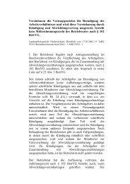 LAG Niedersachsen vom 17.02.2004 13 TaBV 59/03