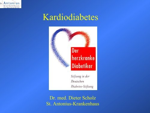 Typ 2 Diabetiker - St. Antonius Krankenhaus gGmbH