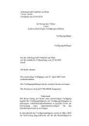 Klagemuster Arbeitsgericht Rheine