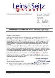 LS aktuell 2010-02 - Leins & Seitz