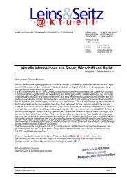 LS aktuell 2010-12 - Leins & Seitz