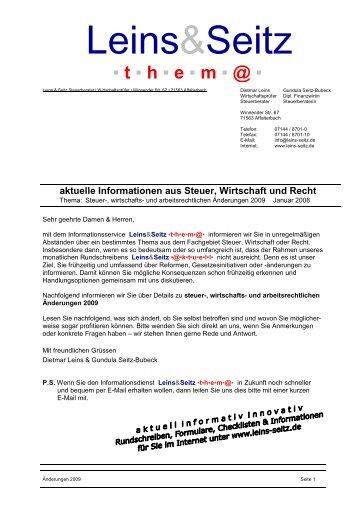 Leins&Seitz - Leins & Seitz