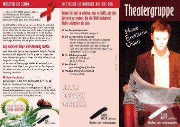 Theatergruppe - Aids Hilfe Leipzig eV