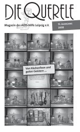 Querele 08-3.indd - Aids Hilfe Leipzig eV - Deutsche AIDS-Hilfe e.V.