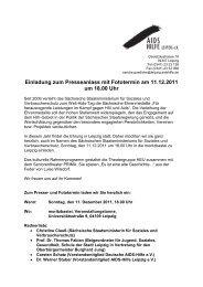 pdf zum Download - Aids Hilfe Leipzig eV - Deutsche AIDS-Hilfe e.V.