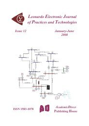 12 - Leonardo Electronic Journal of Practices and Technologies