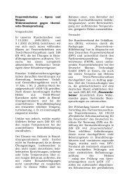 Feuerwehrhelme ? Spreu und Weizen - Deutscher Feuerwehrverband