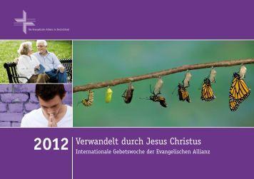 Gebetsheft - Deutsche Evangelische Allianz